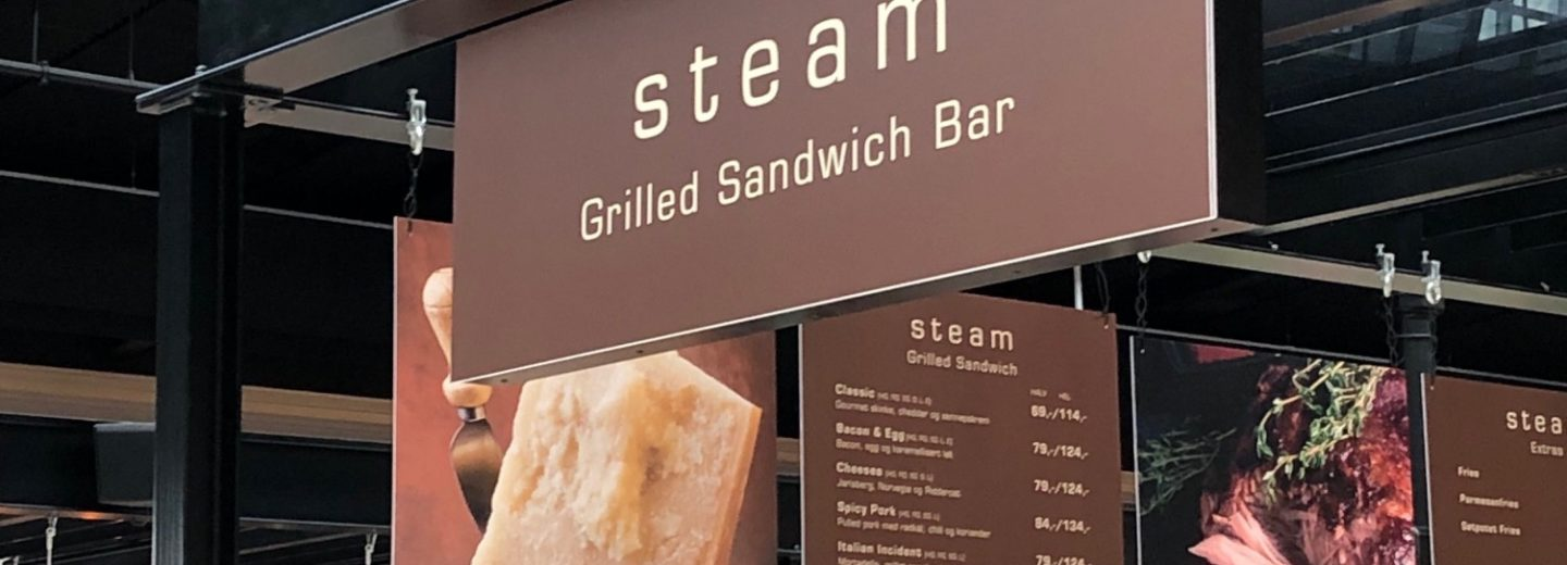 Steam Grilled Sandwich Bar